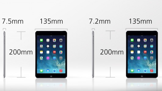how to tell the difference between ipad minis