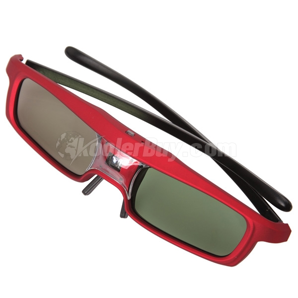3d glasses red