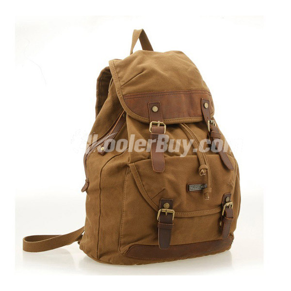 canvas cycling backpack