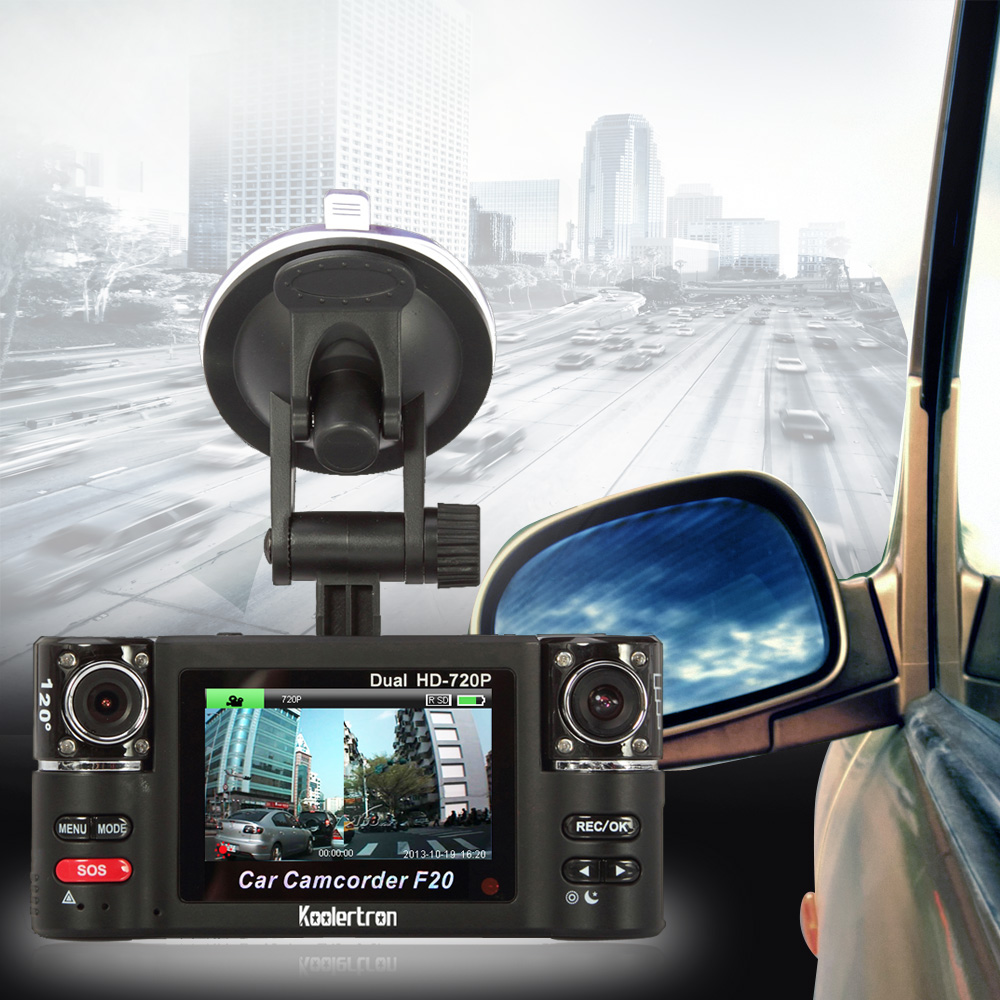 koolertron HD-720P car dvr