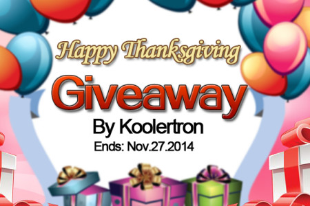 Koolertron 2014 Thanksgiving Giveaway